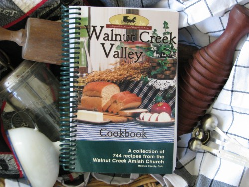 Features 744 of the best Amish recipes from the Walnut Creek Amish Church in Holmes Ohio.