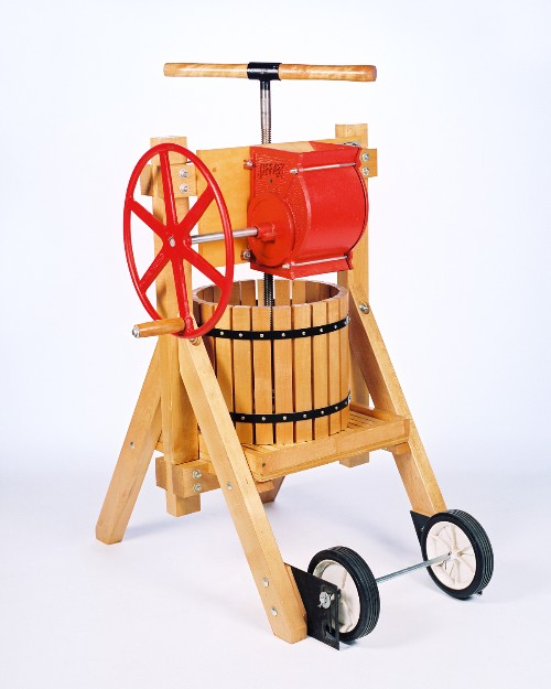 The complete apple grinder and cider press available at http://www.cottagecraftworks located under the Farm- Orchard/vineyard tab.