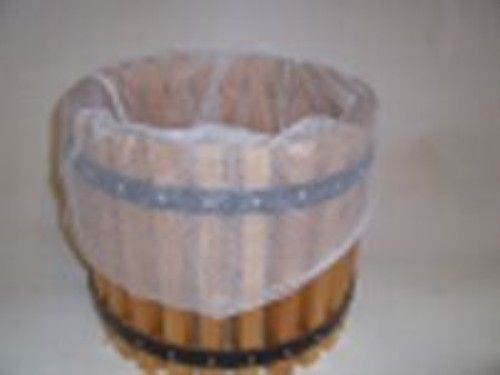 Pressing bags used in cider pressing