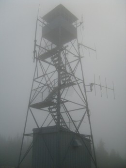 The firetower on Blue Mountain