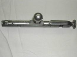 The cocking bolt of a Mosin Nagant rifle.