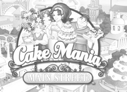 Cakemania Coloring Pages Free Colouring Pictures to Print and Colour - Title Screen