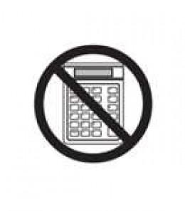 No Calculators