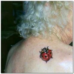 3d ladybug tattoo, Unique Small Ladybug Tattoos