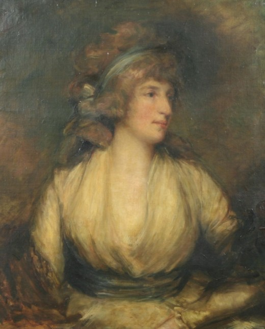 Portrait of Maria Fitzherbert