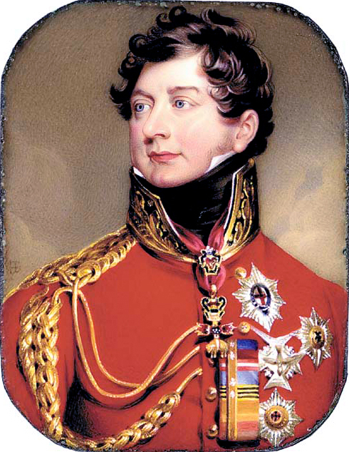 King George IV as Prince Regent