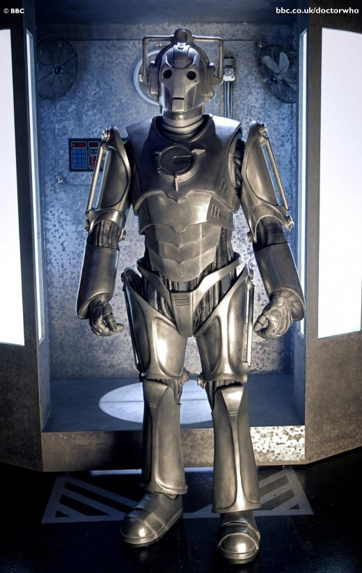 Cyberman 2006 from Doctor Who
