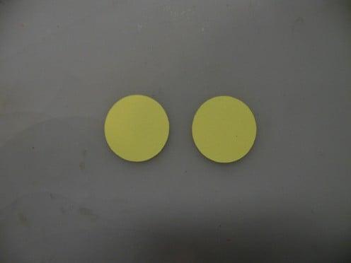 Small pumpkin circles