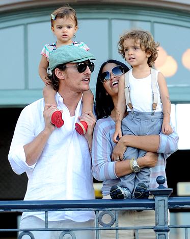 Levi Alves McConaughey and Vida Alves McConaughey