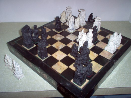 Pieces on the Chessboard