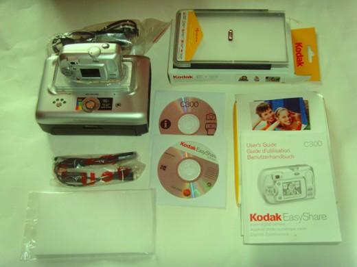 KODAK EasyShare PRINTER DOCK Series 3 Printer + Camera