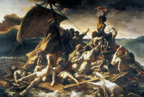 The Raft of the Medusa, by Theodore Gericault.