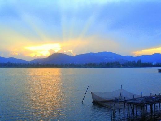 Stunning Khao Tao Reservoir