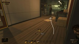 Deus Ex Human Revolution Getting to Sanders - take out this guard