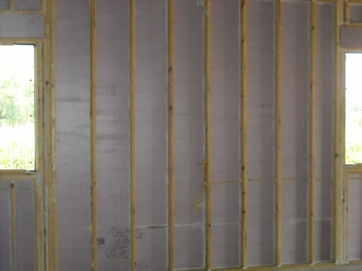 Using foam board insulation is an effective way to create an efficient, sealed framing cavity while allowing extra room for added insulation.
