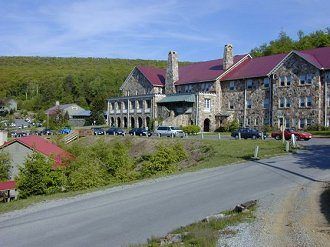 Another view of the main hotel