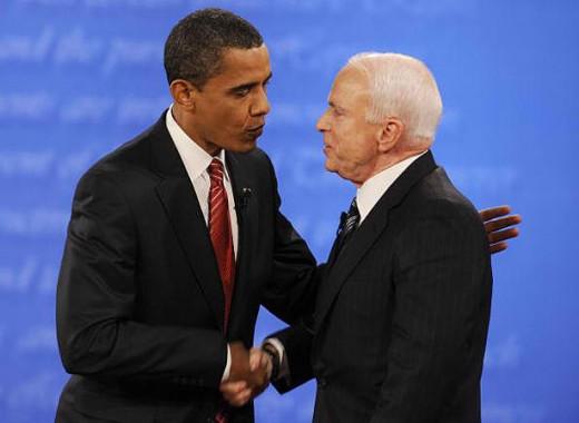 President Barak Obama's Handshake