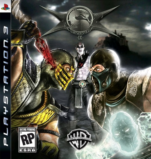 Mortal Kombat Retail PlayStation Edition Raiden Vs Shao Kahn