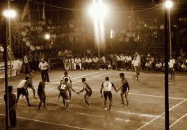 Flood Lit Kabaddi play in COORG a Land of the Brave on top of KARNATAKA.