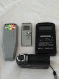 PI Equipment; K-2 meter, voice recorder, EMF dtector, full spectrum camera.