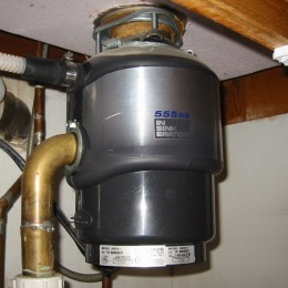 The use of under sink garbage disposals like this are controversial