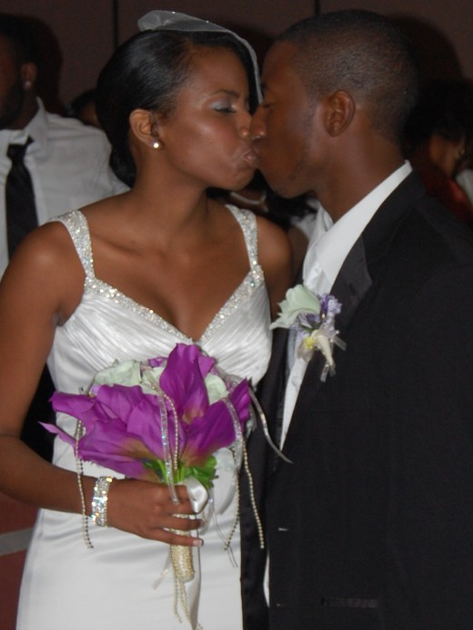 My nephew Maurice and his wife Nakeesha wedding day(8-7-2011)