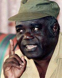 Congo President La'rent Kabila (1997-2001)