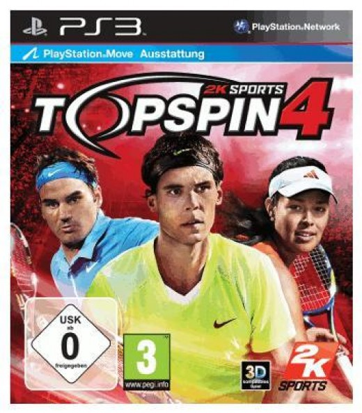 2k Sports Top Spin 4 PlayStation 3 edition