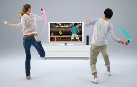 2k Sports Top Spin 4 an d PlayStation Move