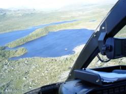 Helicopter Trips Around Kvikkjokk, Jokkmokk, Ritsem and Lapland.