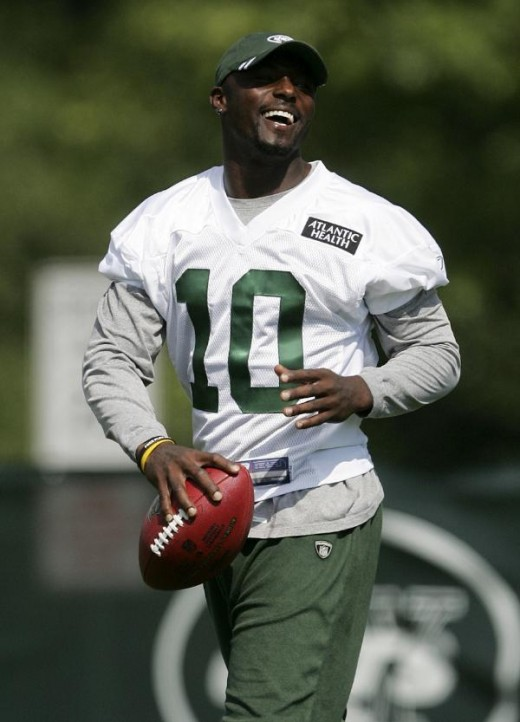 Santonio Holes - New York Jets Wide Receiver