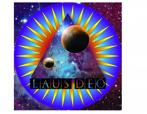 I created this digital artwork in Adobe Illustrator after reading the book The DaVinci Code by Dan Burstein. The message I received from the book is faith, the term Laus Deos which was used in the book means Praise God.