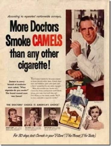 Doctors smoke these? Must be good... uh... NO.