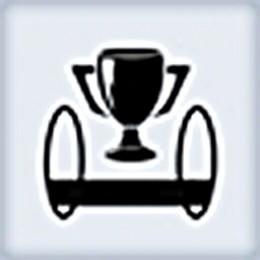 Bridge Over Troubling Water achievement & trophy icon.