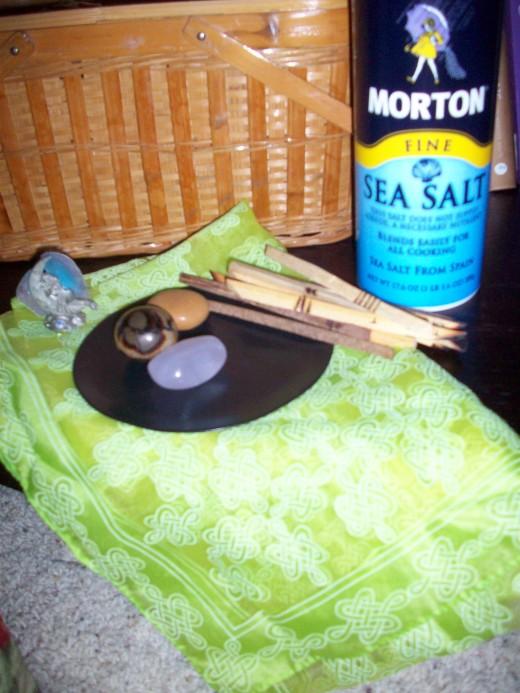 Wiccan Tools I Already Had
