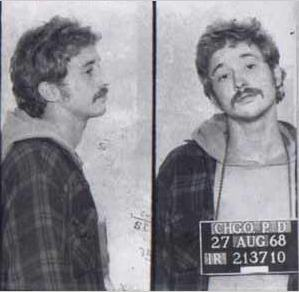Bill Ayers Chicago Mugshot Photo