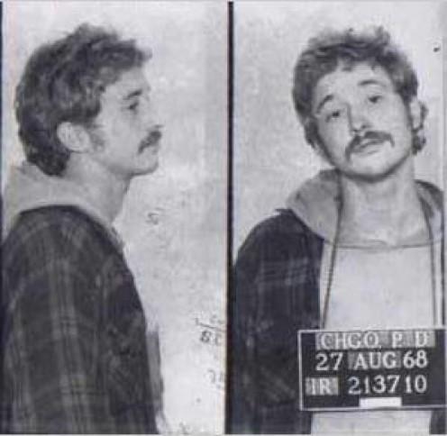 Bill Ayers Chicago Mugshot Photo