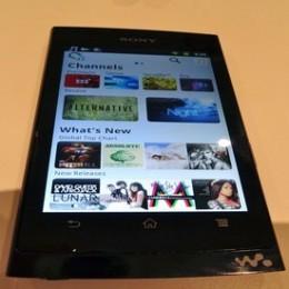 Sony's prototype Android Walkman