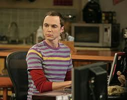 SHELDON (JIM PARSONS), GENIUS, ON CBS' BIG BANG THEORY.