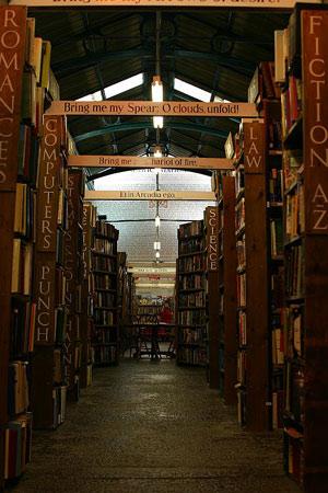 Barter Books, Alnwick: the main room.