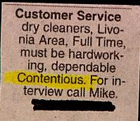 """I think they meant """"conscientious."""" Don't rely on spell-check"""