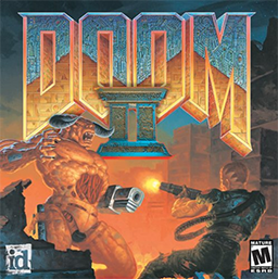 "Cover from, ""Doom II."""