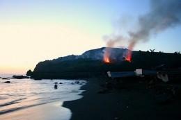 slash-and-burn farming or kaingin