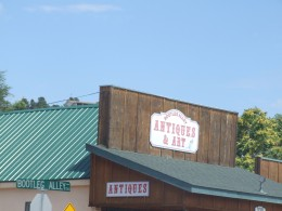 Store on Main Street in Payson, Arizona