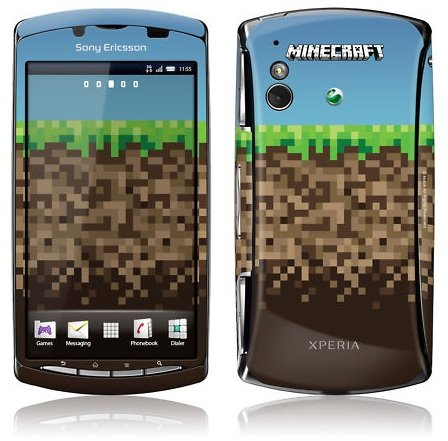 Xperia Play Minecraft Limited Edition phone... That's Ugly!