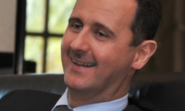 Bashar Al Assad trying to have the last lough