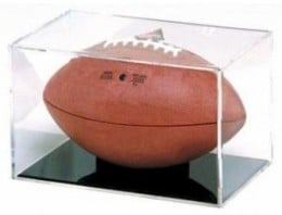 Cradle your football in this case.