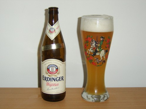 Weissbier (wheat beer) is a tasty alternative to the more common, pilsner style beers