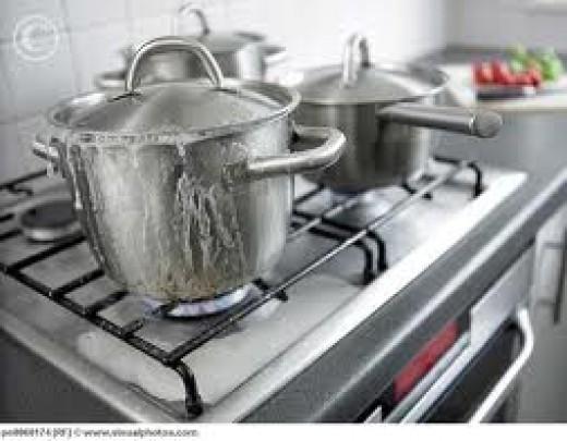 A watched pot never boils.