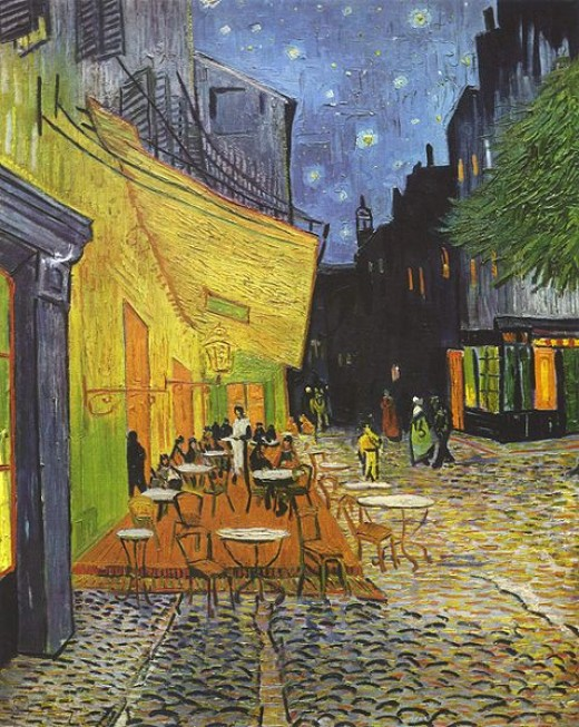 The Night Cafe, a painting by Vincent Van Gogh